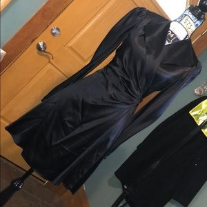 Beautiful silk wrap dress
